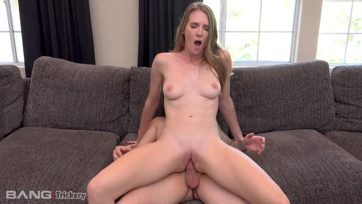 Ashley Lane gets a spiritual deep cleaning of her pussy!