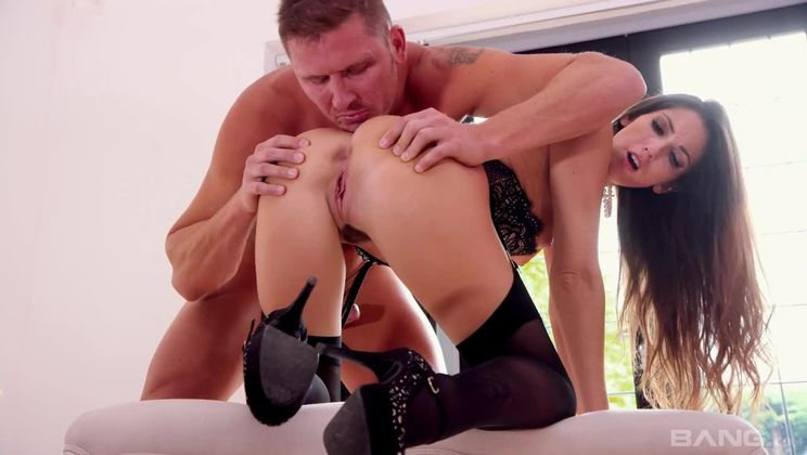 Clea Gaultier lets her stud cum all over her well worked pussy