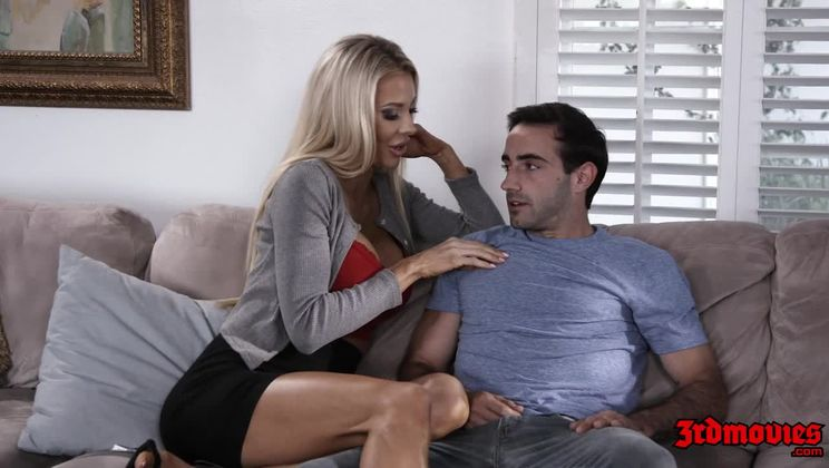 MILF Gets Hammered on Couch